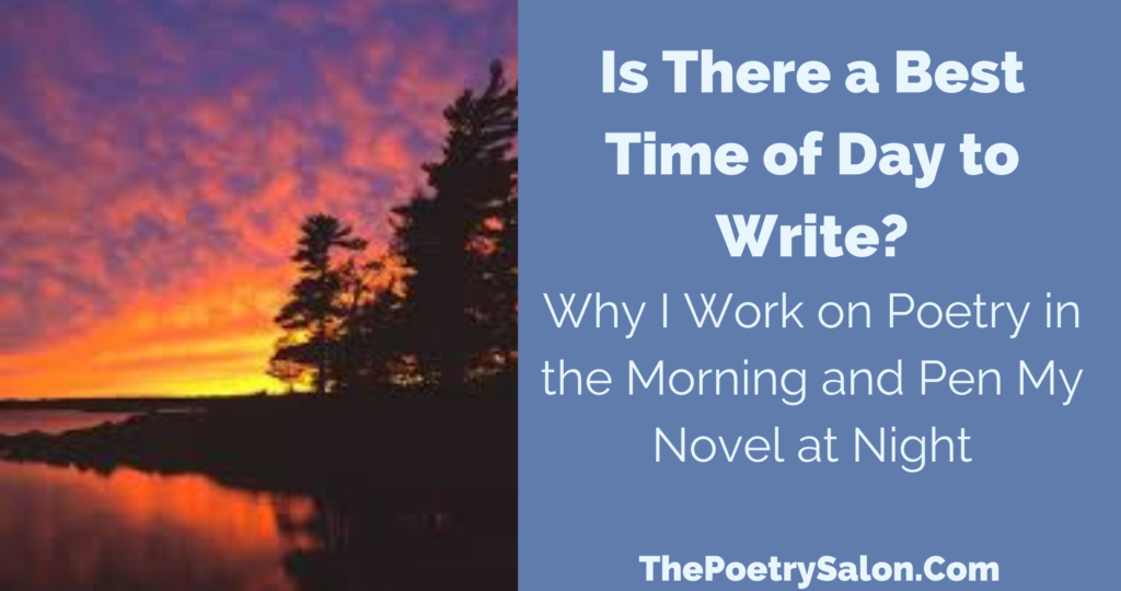 Is there a best time of day to write?